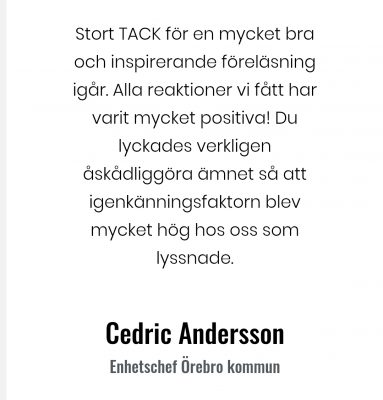 Cedric Andersson
