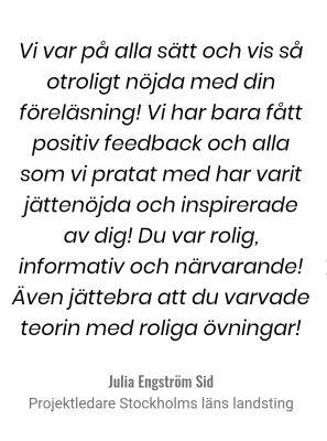 Julia Engström Sid
