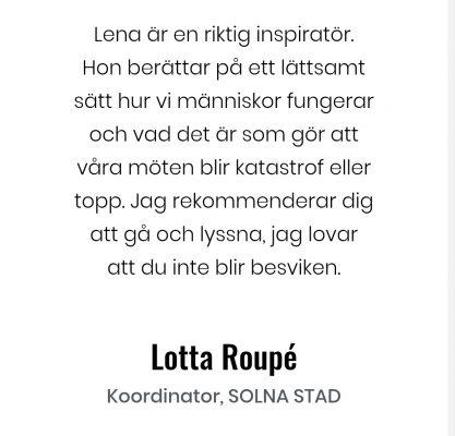 Lotta Roupe