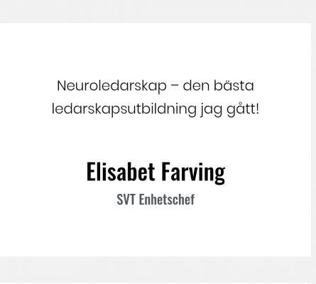 Neuroledarskap Elisabet Farving bättre