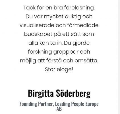 Social arbetmilj Birgitta Söderberg