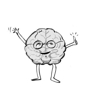 Glad hjärna