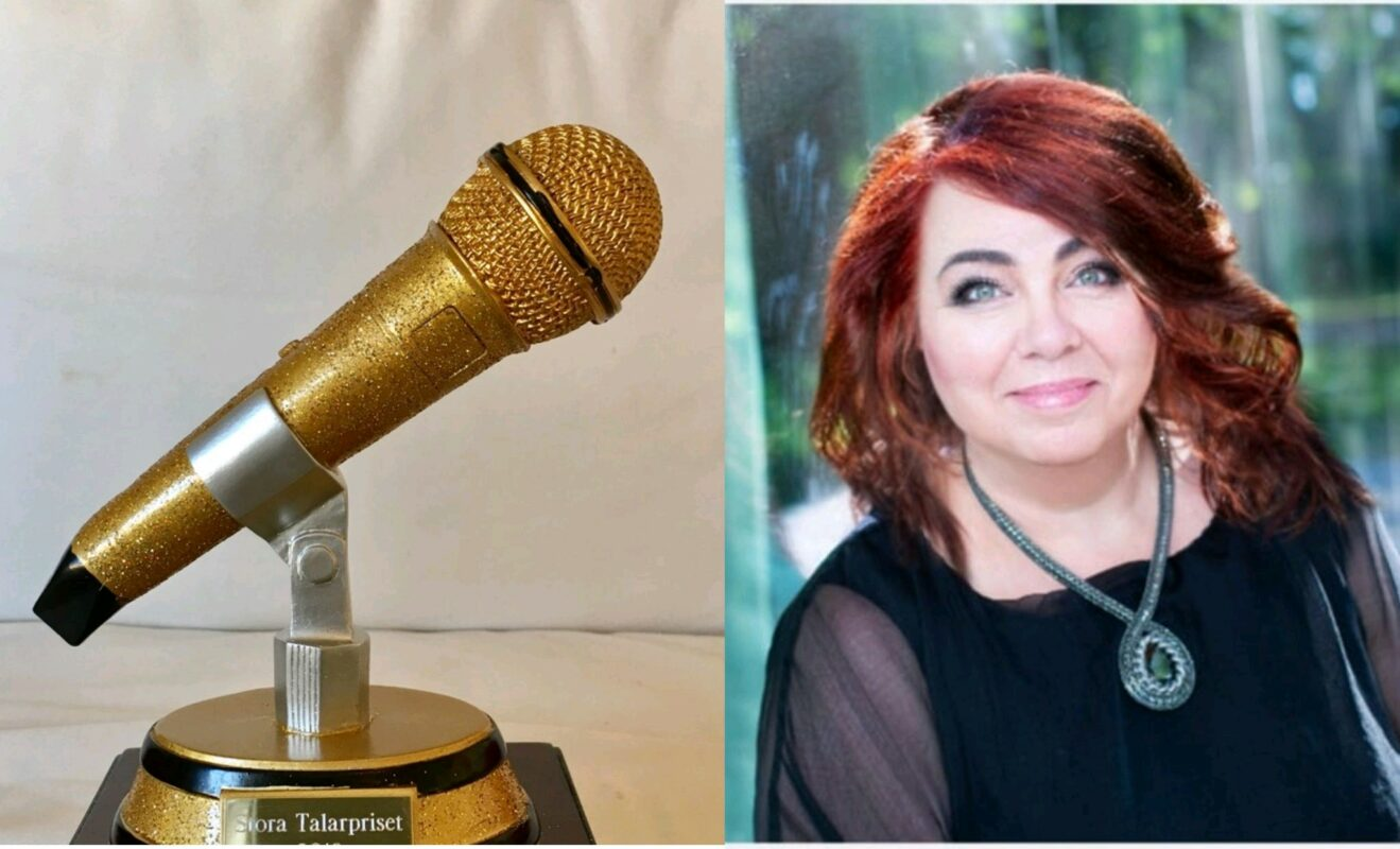 Lena Skogholm nominerad till Stora Talarpriset